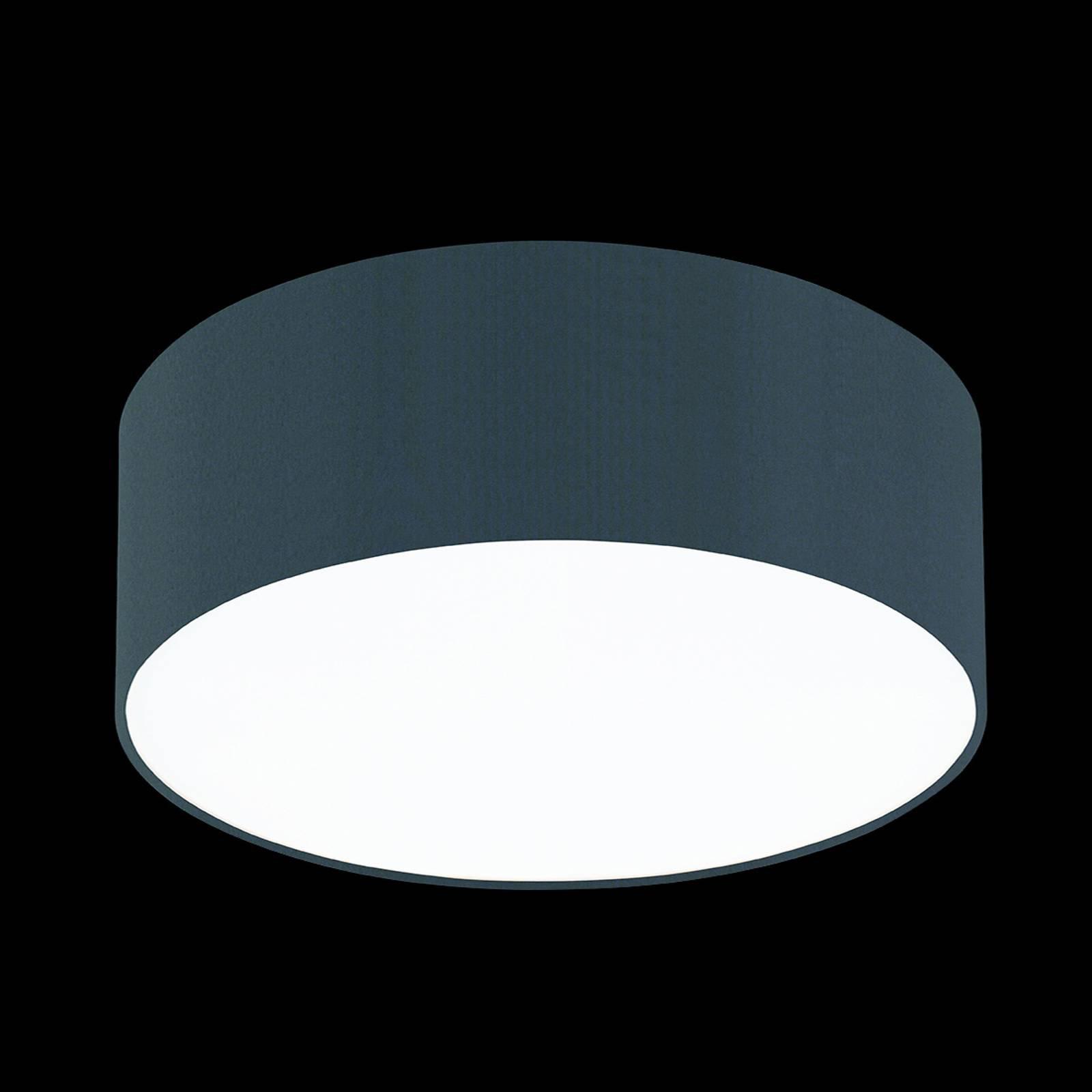 Skifergrå taklampe Mara, 50 cm