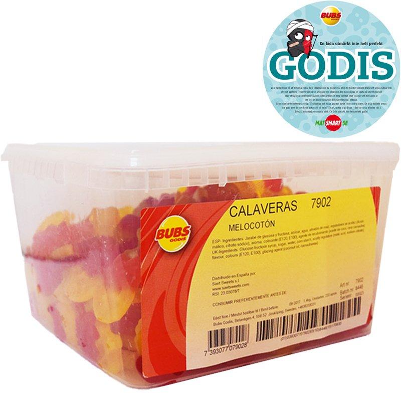 Hel Låda Fruktskallar 1,4kg - 71% rabatt