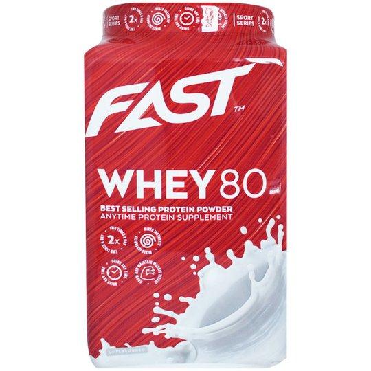 """Proteinpulver """"Whey 80"""" 600g - 75% rabatt"""