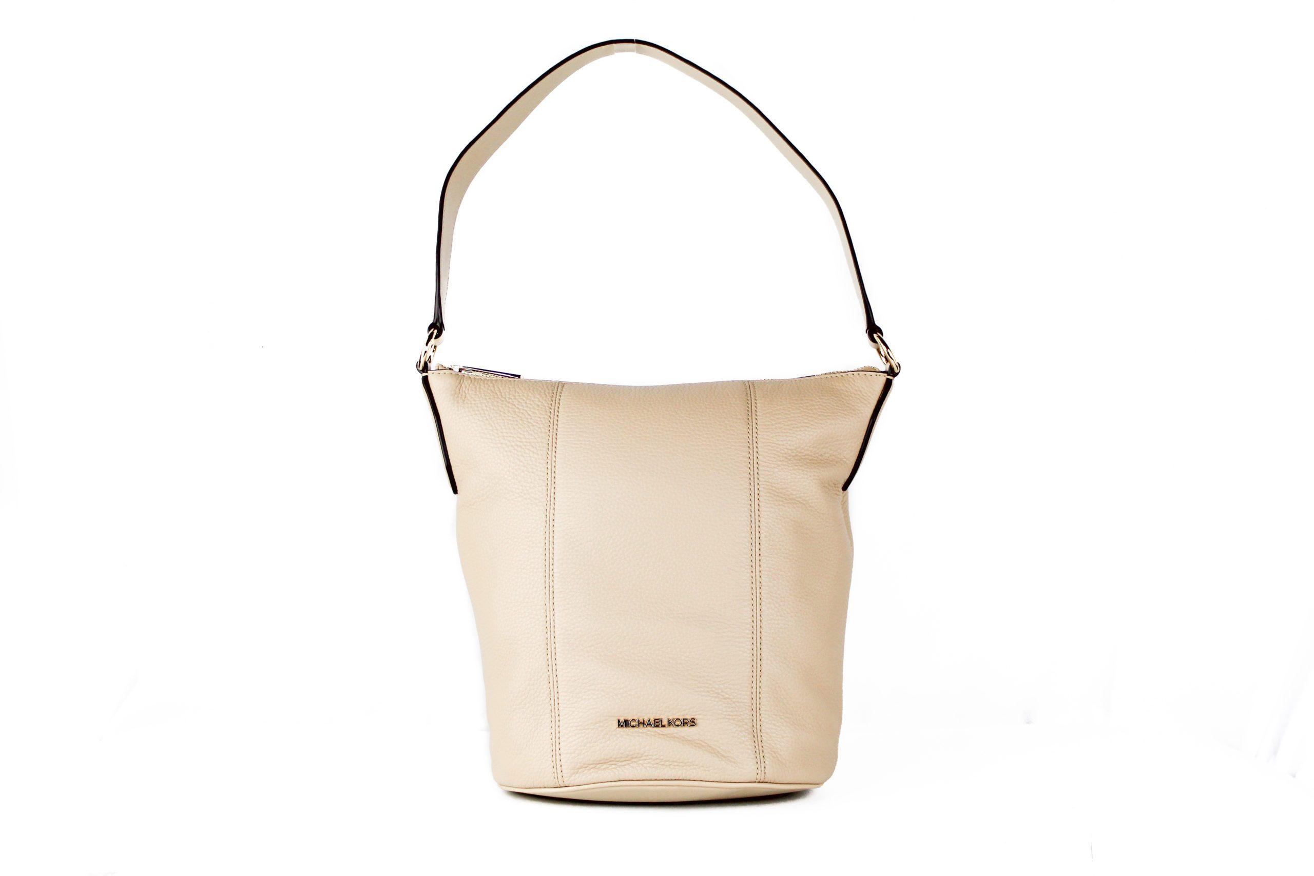 Michael Kors Women's Brooke Handbag White 22375
