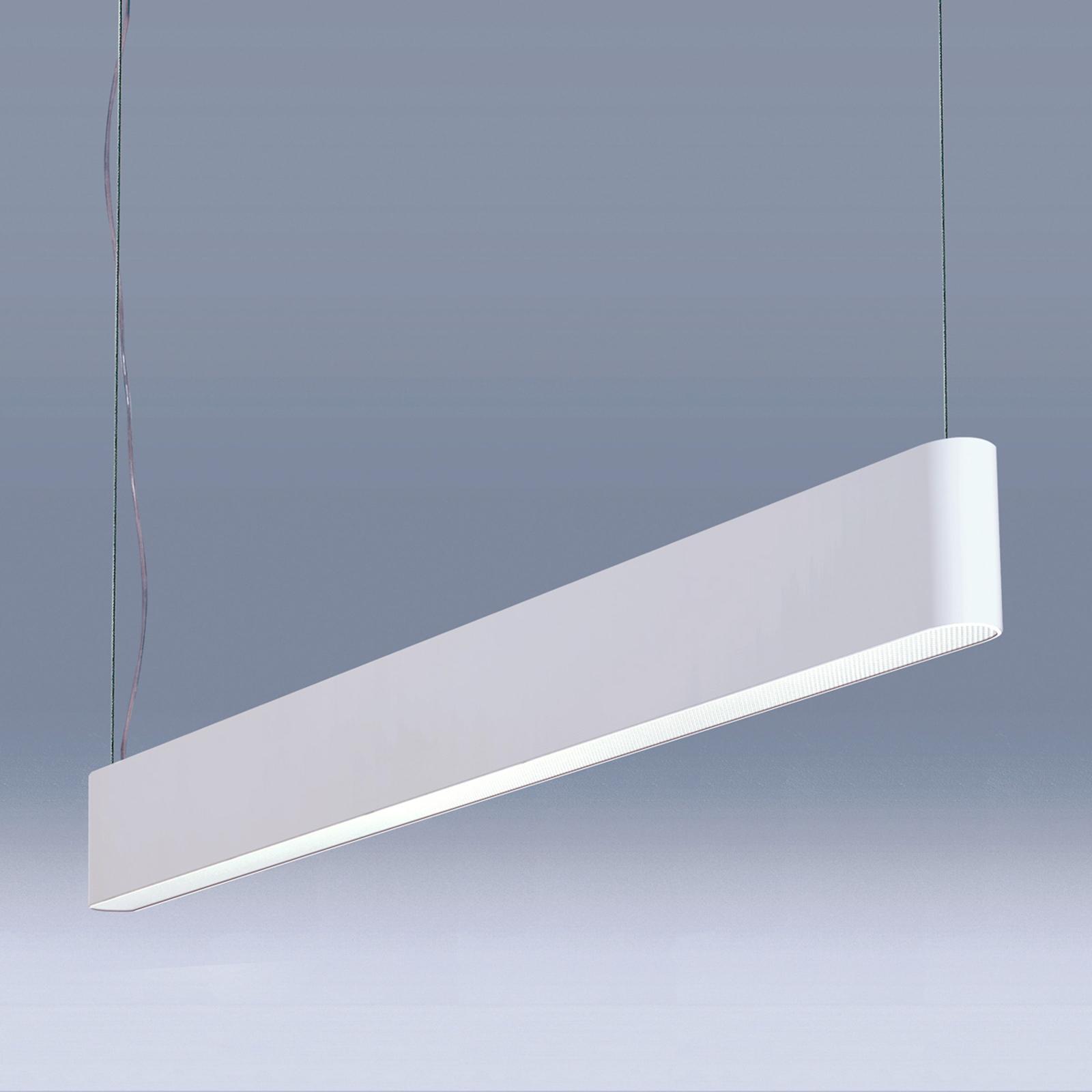 Valkoinen LED-riippuvalaisin Caleo-P4 - 89 cm 48 W