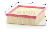 Ilmansuodatin MANN-FILTER C 24 123/2