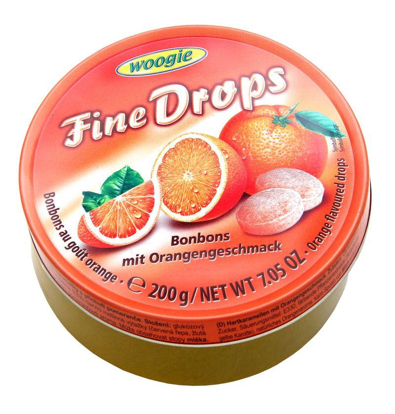 Woogie Fine Drops - Apelsin 200g