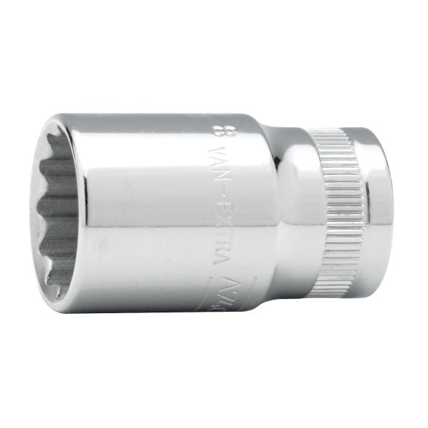 """Bahco A7400DZ-1/2 Tolvkantpipe 3/8"""", tomme 1/2"""""""