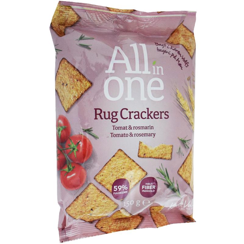 Crackers Tomat & Rosmarin - 25% rabatt