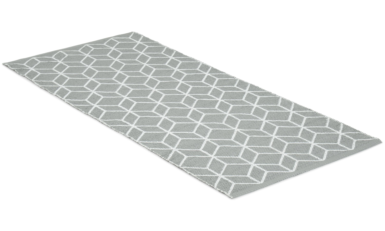 Cube grå - plastteppe