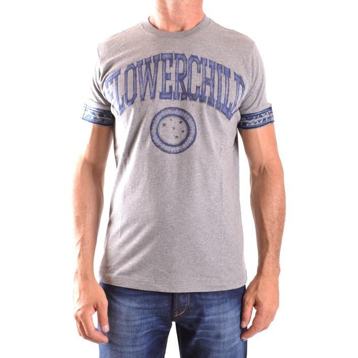 Diesel Men's T-Shirt Grey 161677 - grey S
