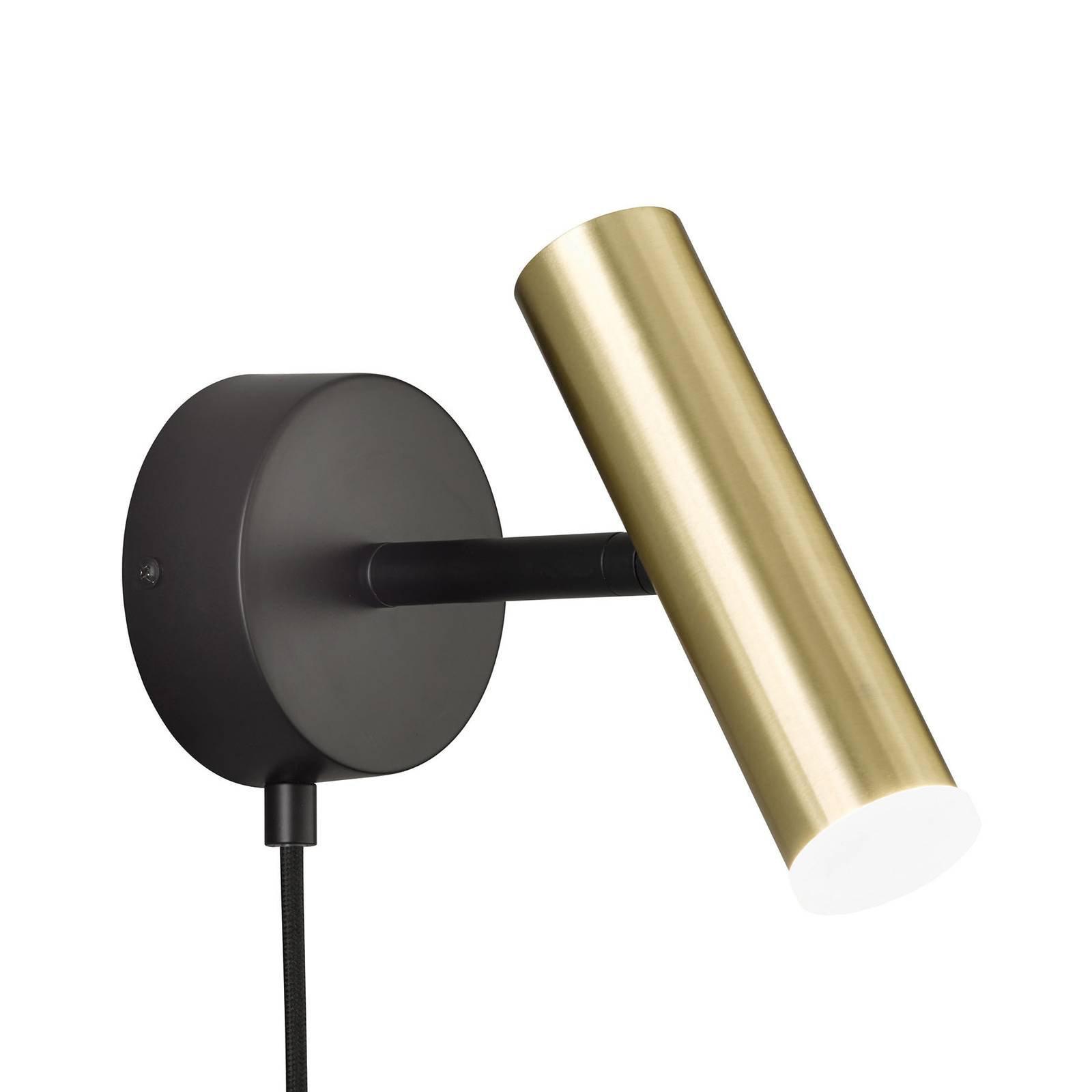 Schöner Wohnen Stina LED-vegglampe, gull