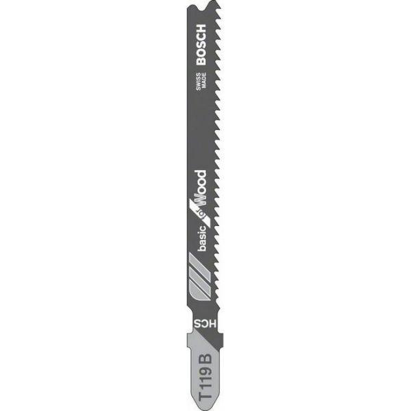 Bosch Basic for Wood Stikksagblad 3-pakning 83mm