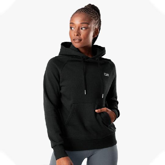 Essential Hoodie, Black