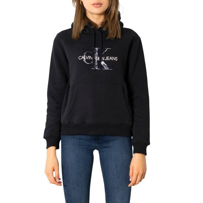 Calvin Klein Jeans Women Sweatshirt Black 299668 - black M
