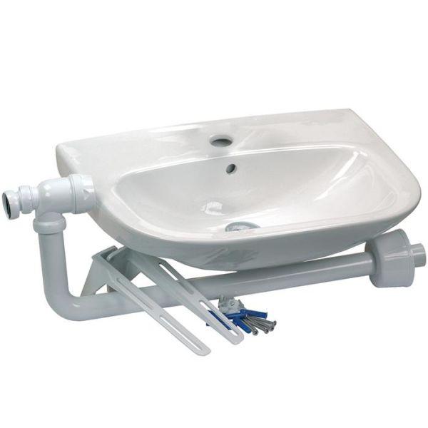 Gelia 3013028932 Vaskeservant med vannlås & tilbehør