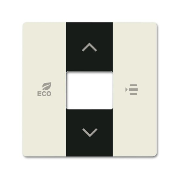 ABB Future Linear 6220-0-0600 Keskiölevy Chalet-white