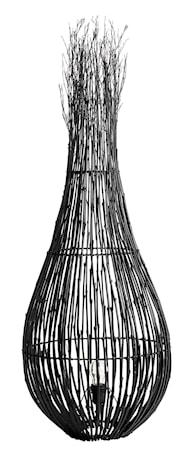 Golvlampa Fishtrap L Svart 130