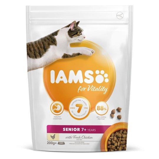 Iams for Vitality Cat Senior Chicken (10 kg)
