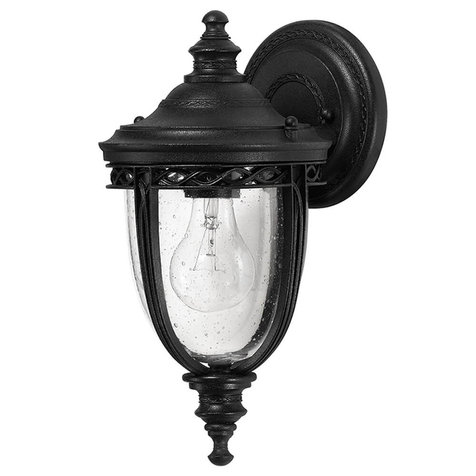 English Bridle -lyhty ulkokäyttöön, Ø16,5cm, musta