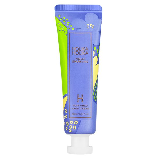 Violet Sparkling Perfumed Hand Cream, Holika Holika Käsivoiteet