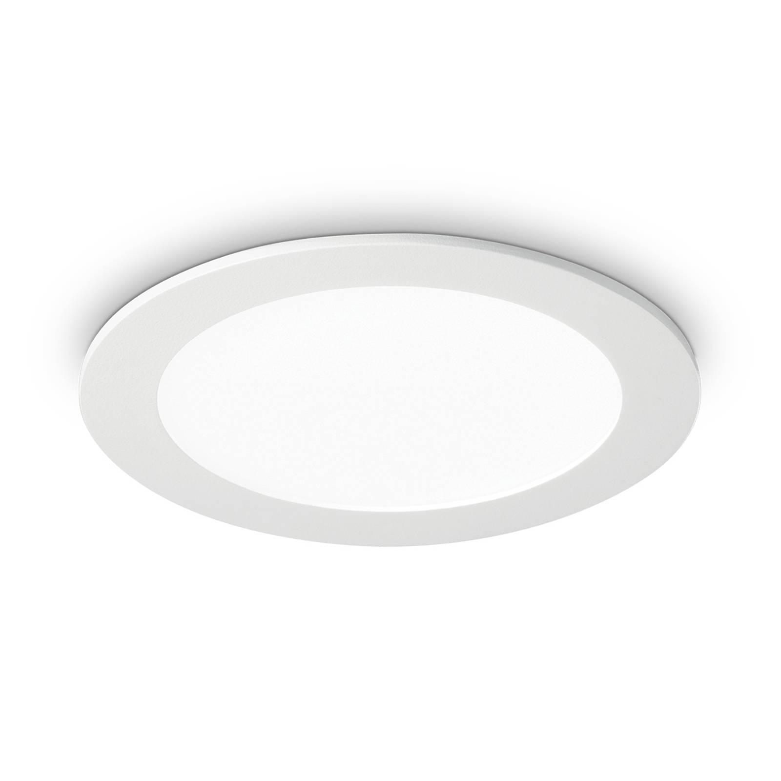 LED-kattouppovalaisin Groove round 3 000 K, 16,8cm
