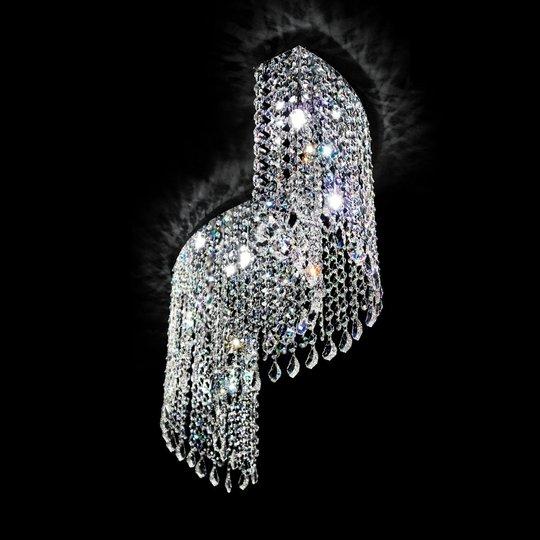 Kaartuva kristallikattovalaisin Shine