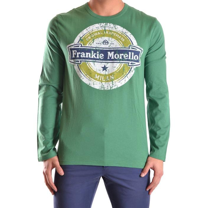 Frankie Morello Men's T-Shirt Green 162834 - green XL