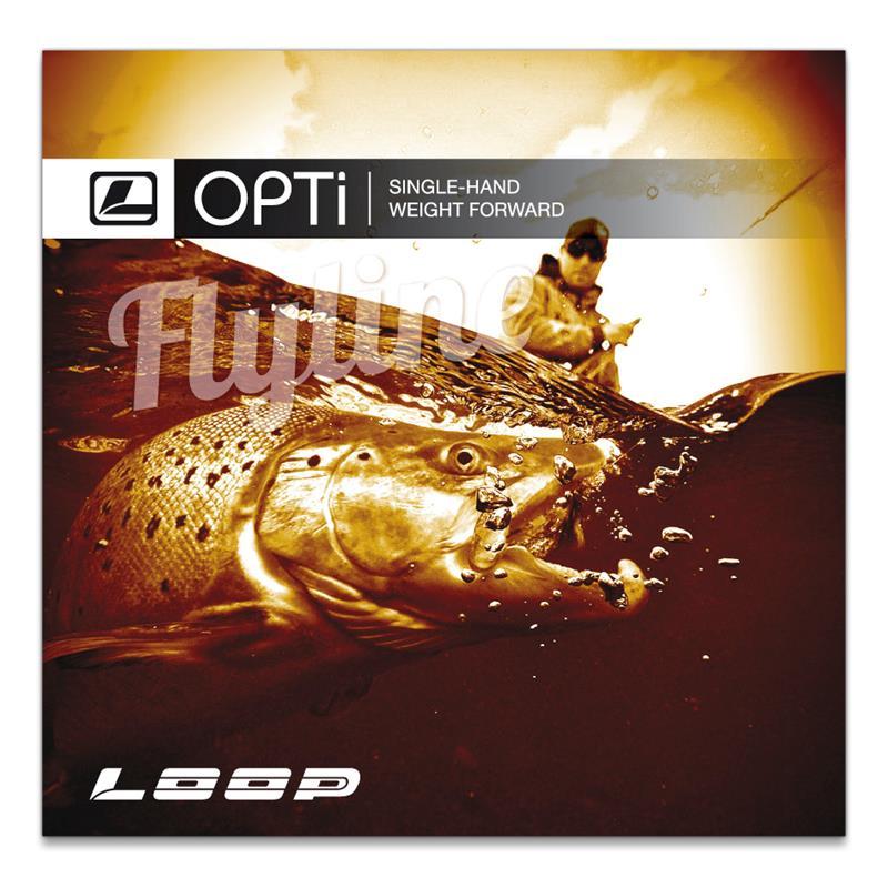 Loop Opti Stillwater WF #6 Lime/Ivory, klumpvekt 14g