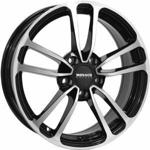 Monaco CL1 Gloss Black Polished 6.5x16 5/112 ET45 B66.5
