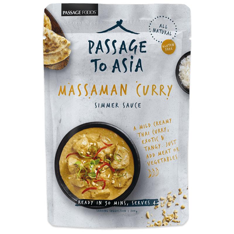 """Sås """"Massaman Curry"""" 200g - 50% rabatt"""