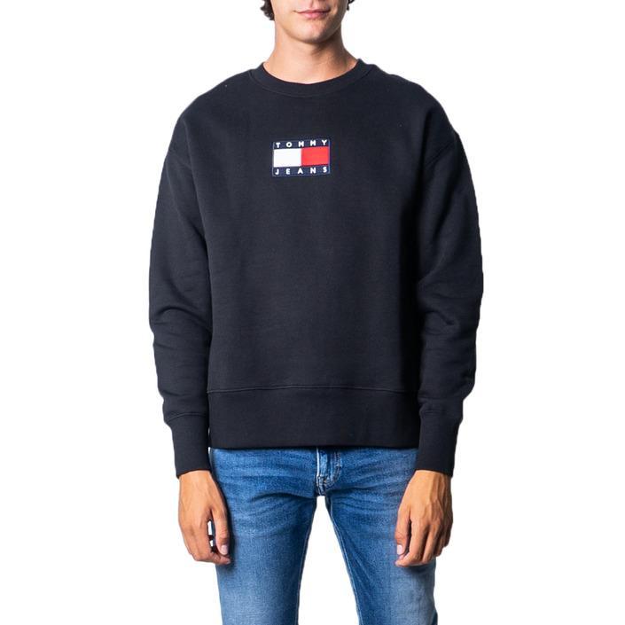 Tommy Hilfiger Men's Sweatshirt Blue Various Colours 177224 - black XL