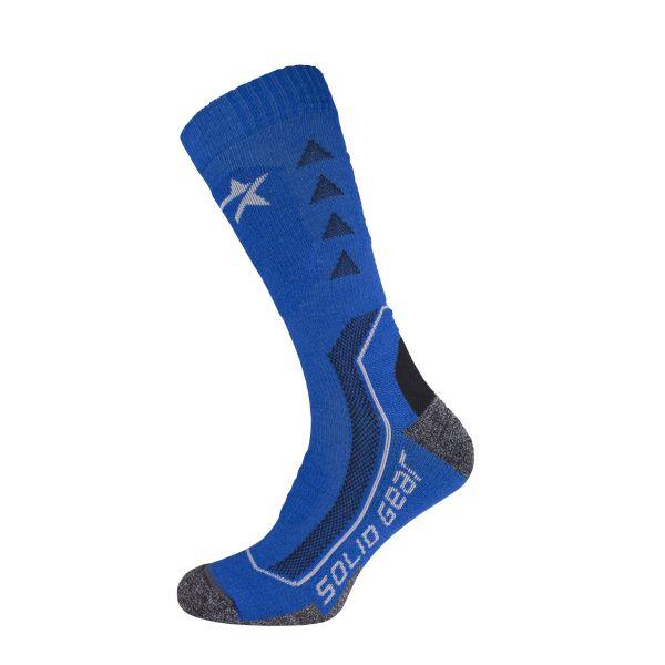 Solid Gear Extreme Performance Winter Strømpe blå, merinoull 35-38