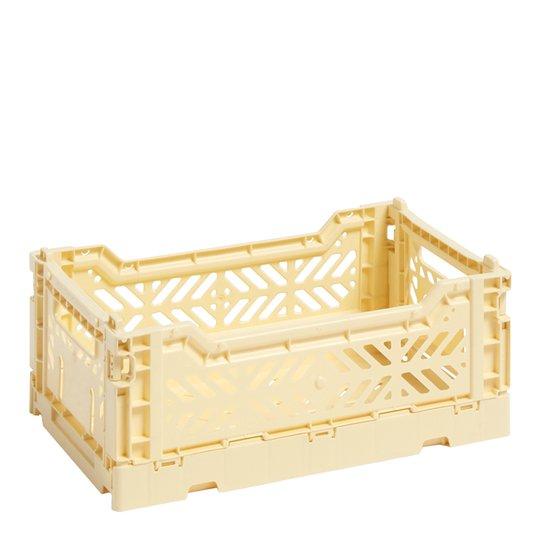 Hay - Hay Förvaringslåda Colour Crate S Ljusgul