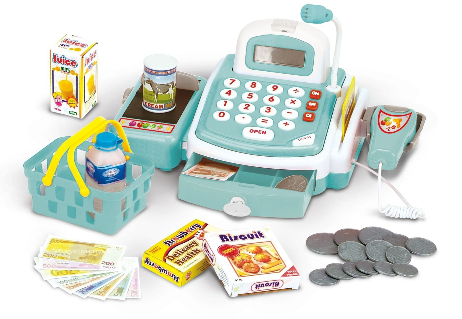 3-2-6 - Large cash register with lights, sound and accessories (68246)