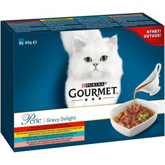Gourmet Perle i Sås 8-pack