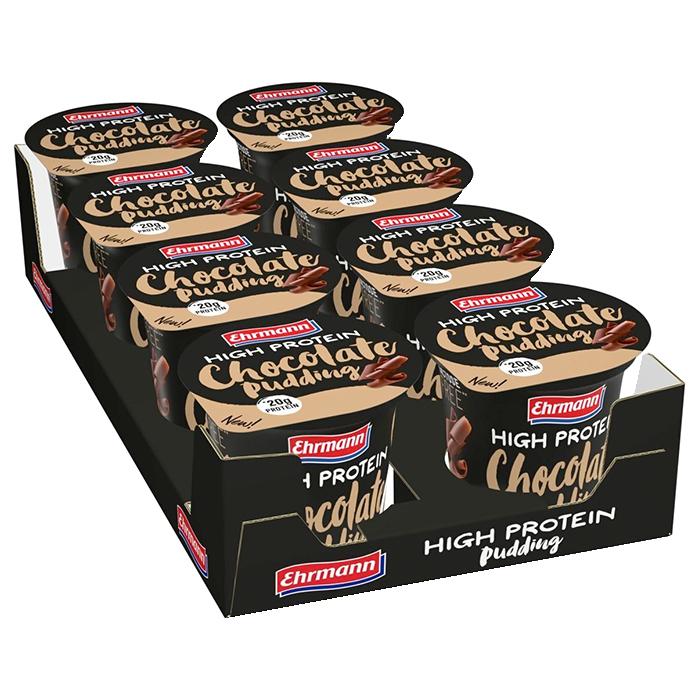 8 x Ehrmann Protein Pudding, 200 g