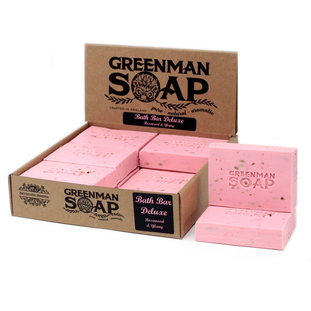 Bath bar deluxe Tvål 100 gram - Greenman Soap
