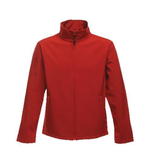 Regatta Women's Print Perfect Softshell Jacket Red T_TRA693 - Red 10