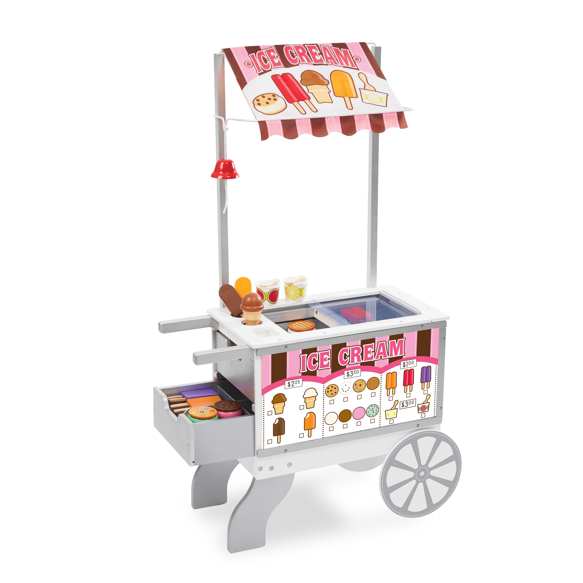 Melissa & Doug - Snacks & Sweets Food Cart (19350)