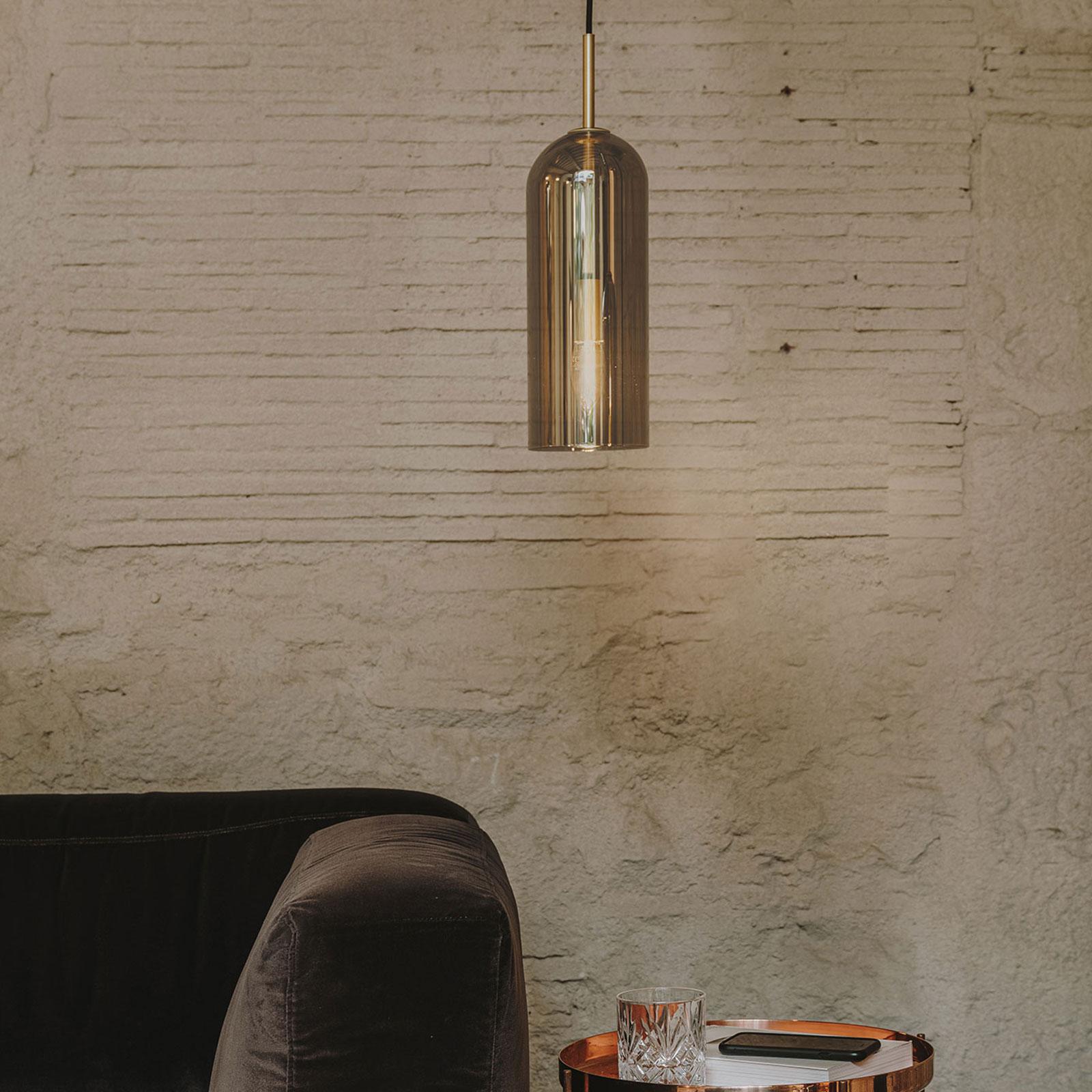 LEDS-C4 Glam -riippuvalo, savulasi, korkeus 31 cm