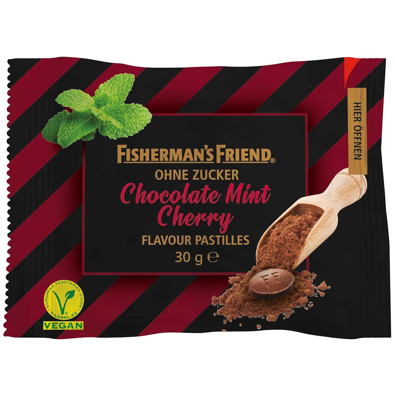 Fishermans Friend Chocolate Mint Cherry 25g