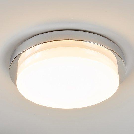 Krominkiiltävä LED-kattovalaisin Cordula, IP44