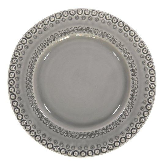 PotteryJo - Daisy Tallrik 29 cm Soft Grey