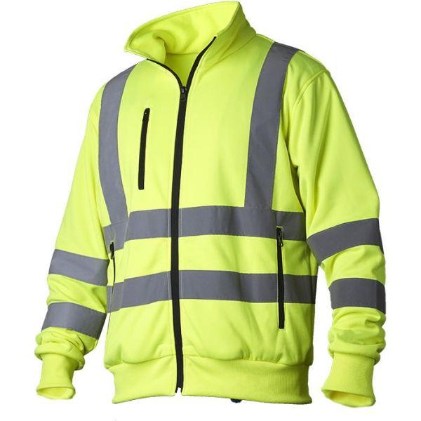 Vidar Workwear V70091004 Neulepaita huomiotakki, keltainen S