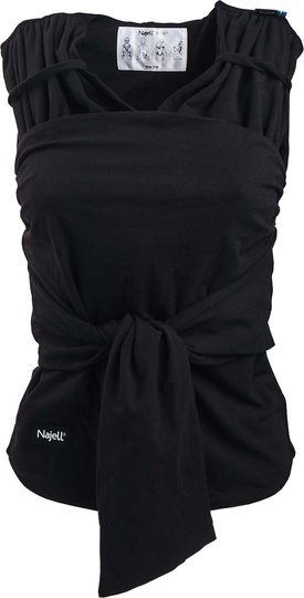 Najell Wrap Bæresjal, Charcoal Black S/M