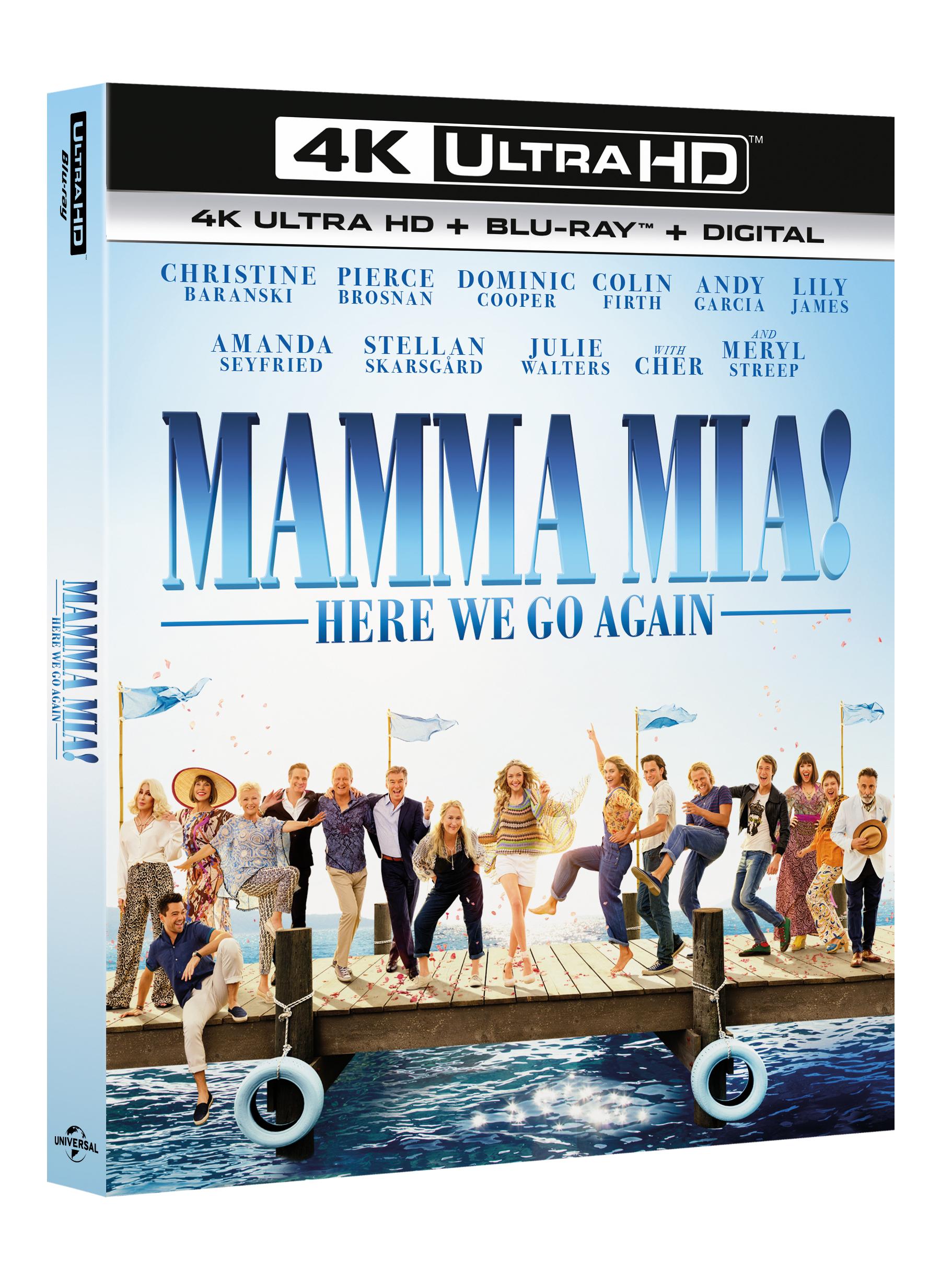 Mamma Mia! Here We Go Again (4K Blu-Ray)