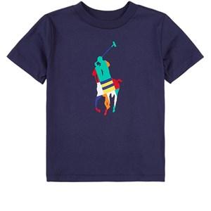 Ralph Lauren Logo T-shirt Marinblå 2 år