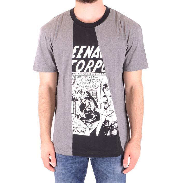 Alexander Mcqueen Men's T-Shirt Grey 165630 - grey S