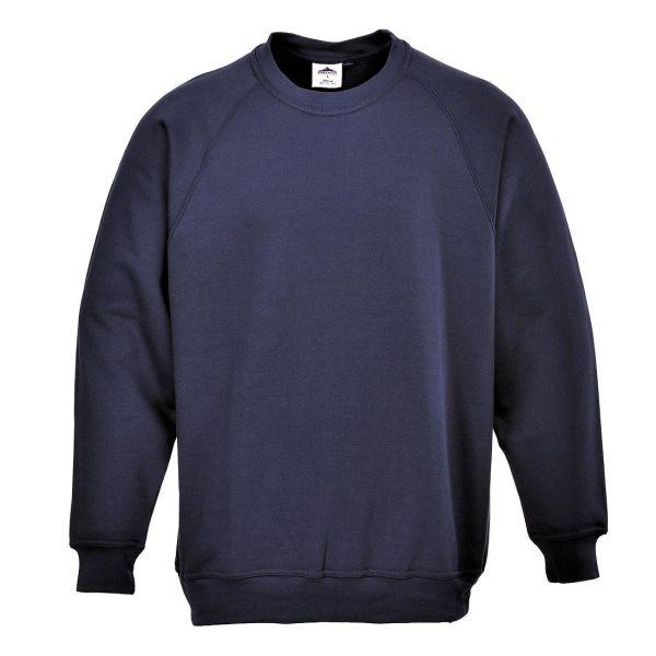 Portwest Roma Sweatshirt marinblå XS