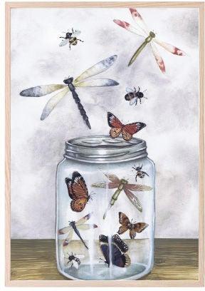 That's Mine Juliste Glass Jar Treasures 30x40