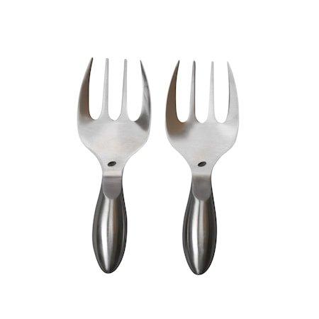 Insalata Salatbestikk 2 deler Sølv