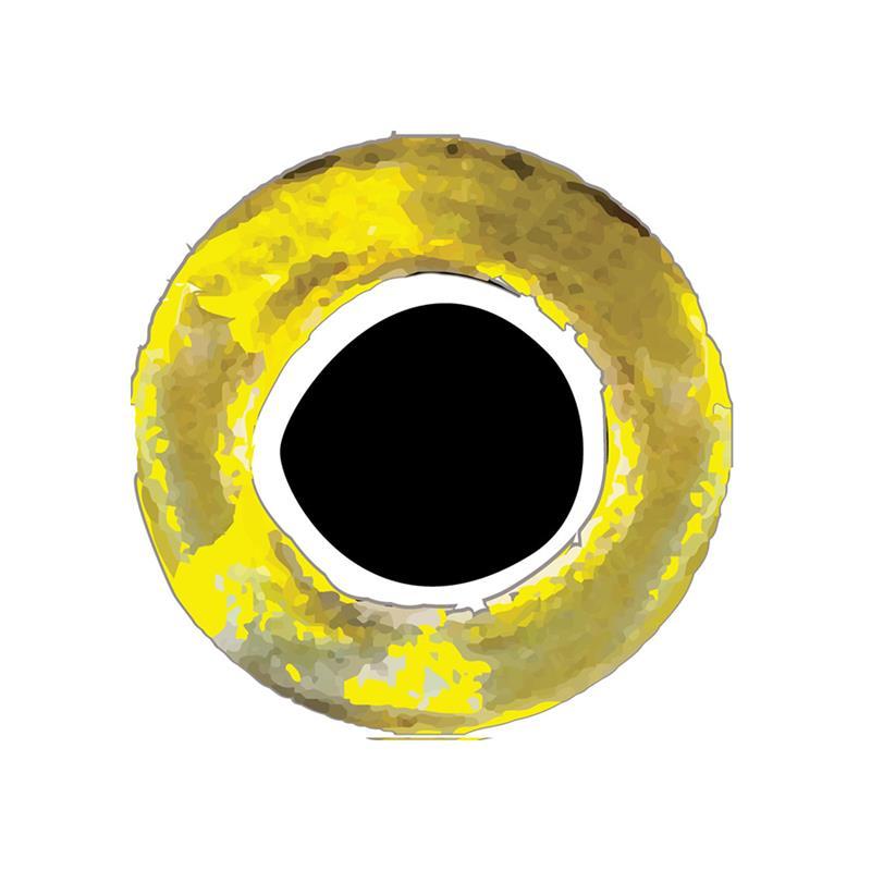 Pro Flexi Eyes Gold 6 mm 56 stk