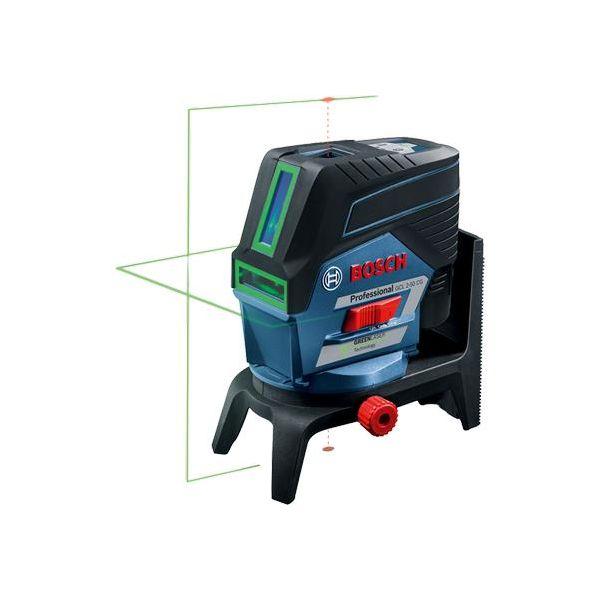 Bosch GCL 2-50 CG Krysslaser grønn, med L-BOXX, uten batteri og lader